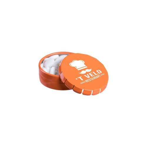 Super Mini Klick-Klack Dose (orange) (Art.-Nr. CA052127)