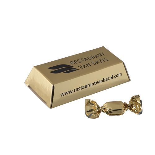 Mini Goldbarren mit Gold Bonbon (gold) (Art.-Nr. CA795054)