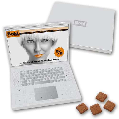 Adventskalender Laptop Großbriefformat (Art.-Nr. CA084808)