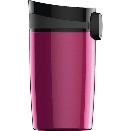 To Go Becher Miracle Mug [0.27 L], inkl. 1-farbigen Druck (Berry) (Art.-Nr. CA311611)