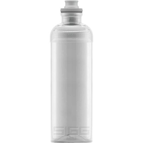 Trinkflasche Feel Transparent [0.6 L], inkl. 1-farbigen Druck (transparent) (Art.-Nr. CA560621)