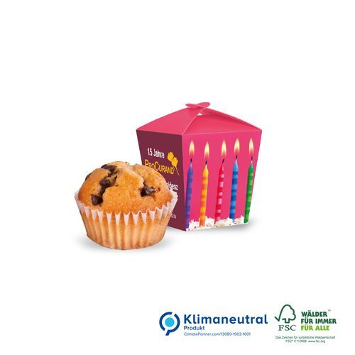 Muffin Mini in Promotion-Verpackung Style, Klimaneutral, FSC® (4-farbig) (Art.-Nr. CA171443)