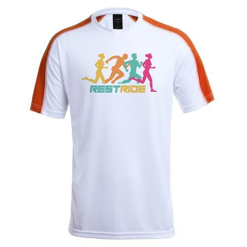 T-Shirt Tecnic Dinamic Comby (orange) (Art.-Nr. CA042855)
