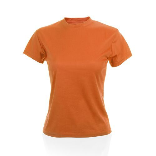 Frauen T-Shirt Tecnic Plus (orange) (Art.-Nr. CA085512)