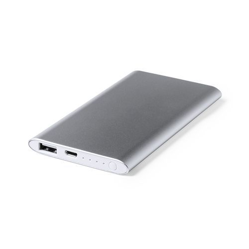 Power Bank Wilkes (silber) (Art.-Nr. CA249213)