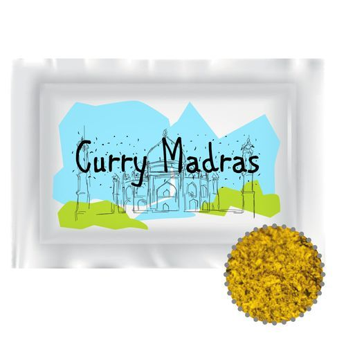 Gewürz Curry Madras, ca. 4g, Potionstüte (individualisierbar) (Art.-Nr. CA031120)