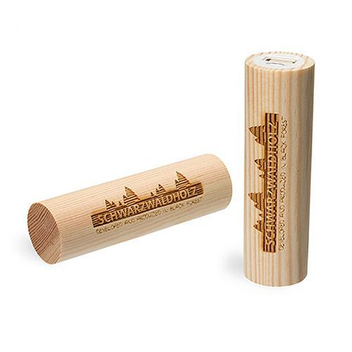 Q-Pack Timber Kiefer 2600 mAh (braun) (Art.-Nr. CA093597)