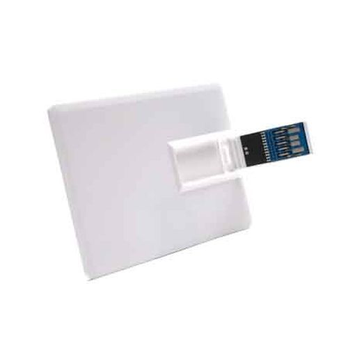 USB Stick Basic Card 3.0 16 GB (weiß) (Art.-Nr. CA135119)