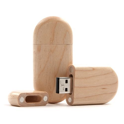USB Stick Holz Trailer 256 MB (Ahornholz) (Art.-Nr. CA240600)