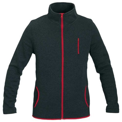 Schwarzwolf outdoor® ELBRUS Herren Sweatjacke aus Fleece, 3XL (grau) (Art.-Nr. CA771141)