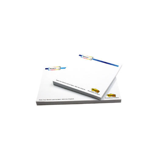 Bedruckte Post-it® Notes (SmartLine) 127.00 x 74.50 mm 4/0 fbg. (weiß) (Art.-Nr. CA011977)