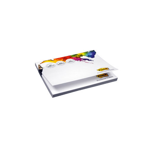 Bedruckte Post-it® Notes 102.00 x 74.50 mm 3/0 fbg. (weiß) (Art.-Nr. CA494050)