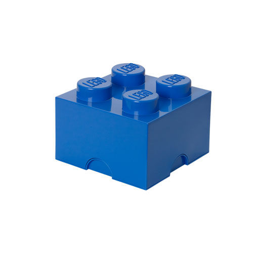 LEGO Storage Brick 4 - Kiste/Box (blau) (Art.-Nr. CA657175)
