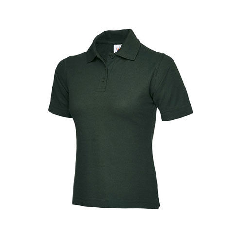 Ladies Poloshirt [L] (bottle green) (Art.-Nr. CA006009)