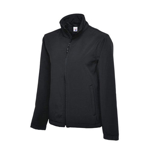 Classic Full Zip Soft Shell Jacket [4XL] (black) (Art.-Nr. CA106905)