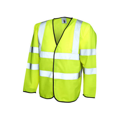 Long Sleeve Safety Waist Coat [3XL] (yellow) (Art.-Nr. CA360118)