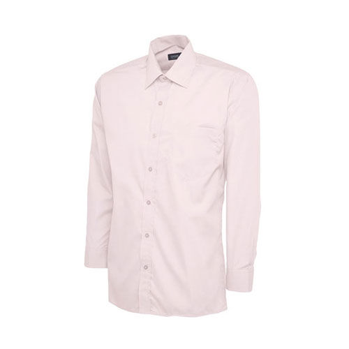 Mens Poplin Full Sleeve Shirt [L] (pink) (Art.-Nr. CA448940)