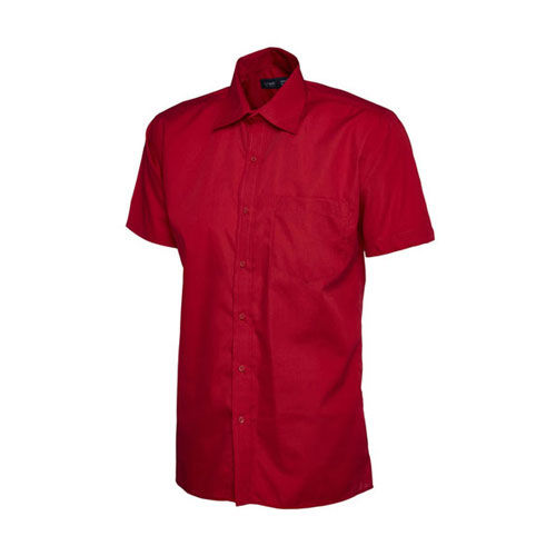 Mens Poplin Half Sleeve Shirt [M] (Art.-Nr. CA465638)