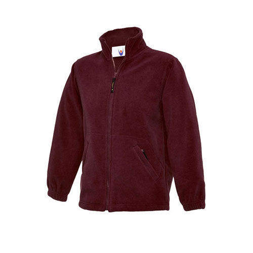 Childrens Full Zip Micro Fleece Jacket [92] (Maroon) (Art.-Nr. CA648941)