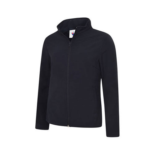 Ladies Classic Full Zip Soft Shell Jacket [L] (navy) (Art.-Nr. CA745427)