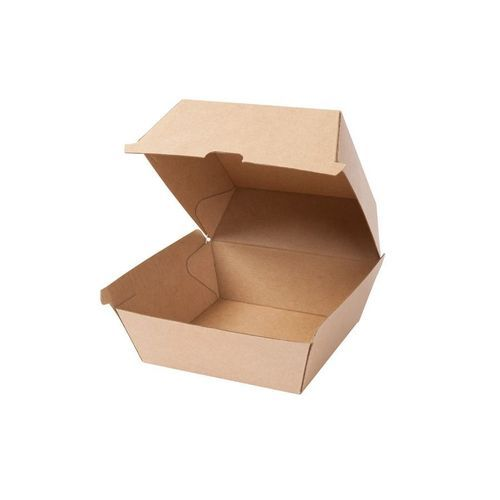 Take-away-Burger-Boxen 16, 8 x 15, 4 x 9, 8 cm, Kraftkarton, [200er Pack] (braun) (Art.-Nr. CA251075)