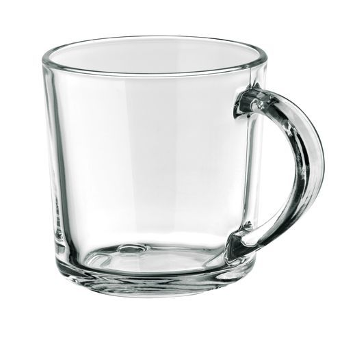 SOFFY. Tasse aus Glas 280 ml (Transparent) (Art.-Nr. CA490245)