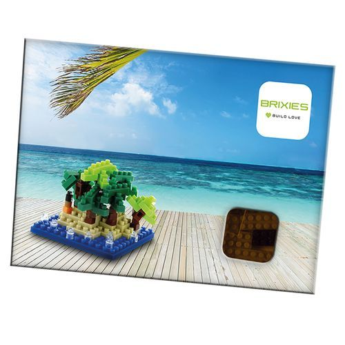 BRIXIES Postkarte Happy Holiday (bunt) (Art.-Nr. CA765051)