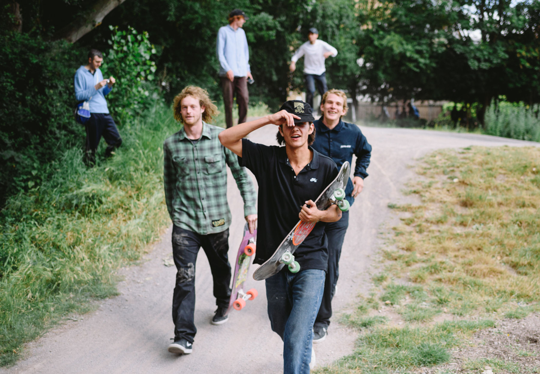 _IHC7829e-Willis-Kimbel-Donovon-Piscopo-John-Fitzgerald-Nike-SB-x-Slam-City-Skates-Go-Skateboarding-Day-London-June-2015-Photographer-Maksim-Kalanep