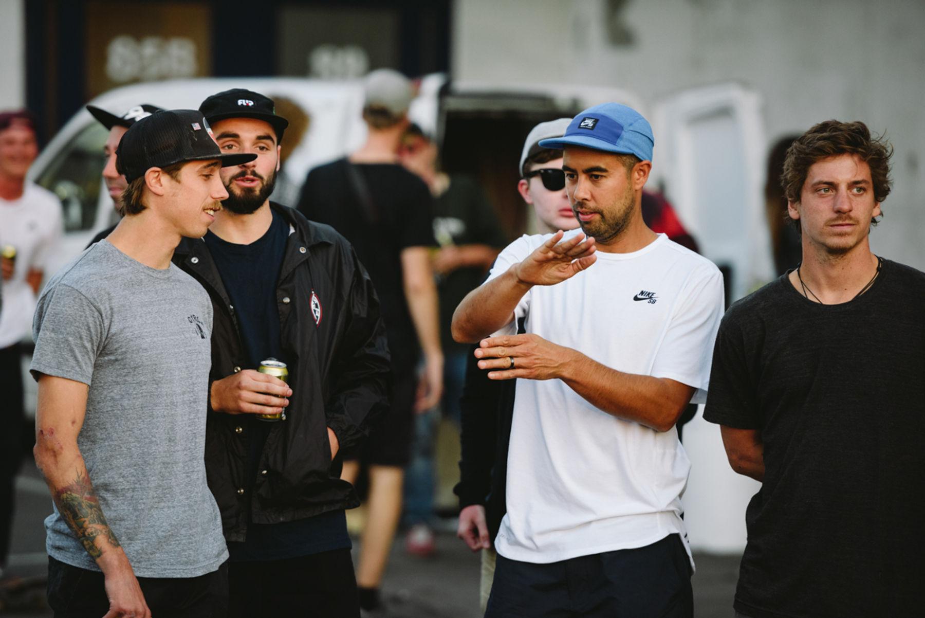 _IHC4327e-David-Gravette-Matt-Berger-Eric-Koston-Cory-Kennedy-Nike-SB-Copenhagen-Open-Ledges-Meat-Packing-District-Day-2-July-2015-Photographer-Maksim-Kalanep