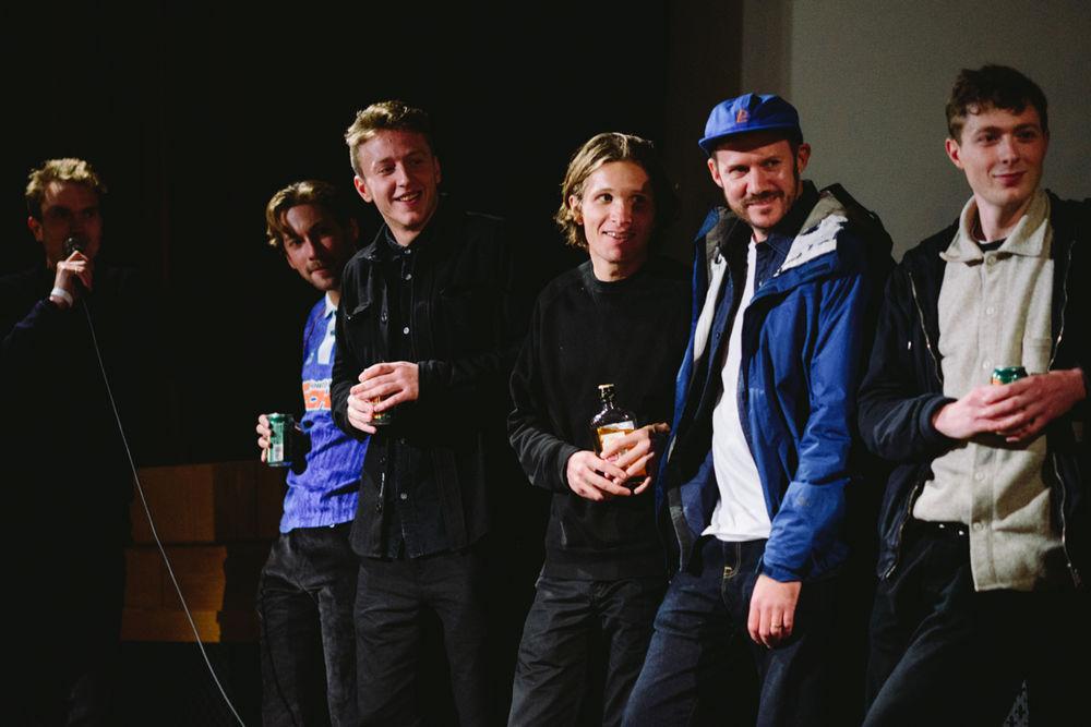 _IHC8114e-Nick-Jensen-Chris-Jones-Casper-Brooker-Sylvain-Tognelli-Paul-Shier-Jacob-Harris-Isle-Vase-Film-Premiere-Prince-Charles-Cinema-London-November-2015-Photographer-Maksim-Kalanep
