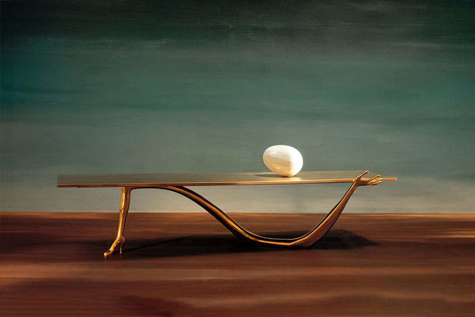 Leda Table from BD Barcelona Design