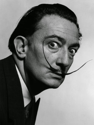 Salvador Dalíportrait
