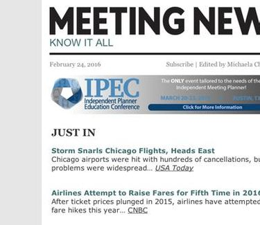 Meeting News logo
