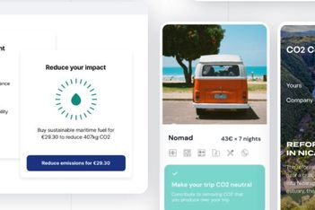 Companies can now offer carbon offsets via Lufthansa start-up
