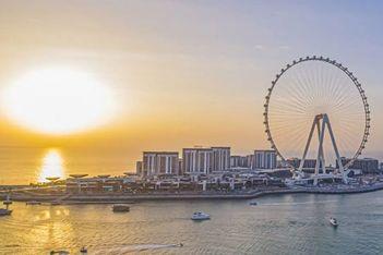 World's tallest observation wheel opens in Dubai
