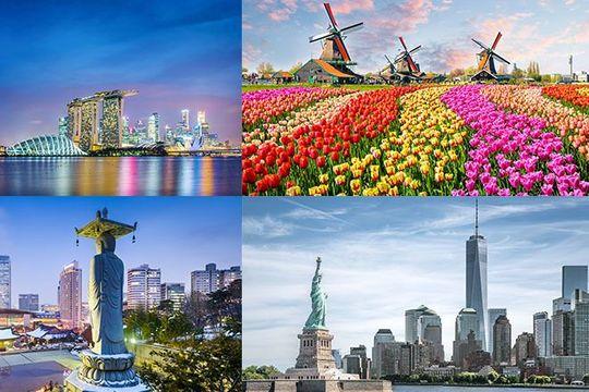 APAC charts return to international travel