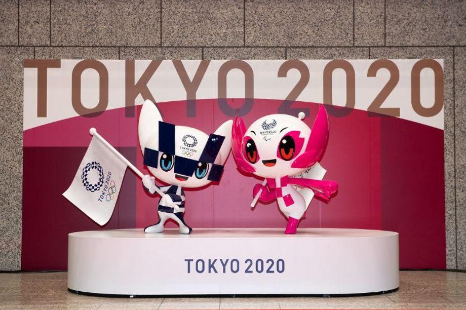 Tokyo 2020 mascots Miraitowa and Someity.