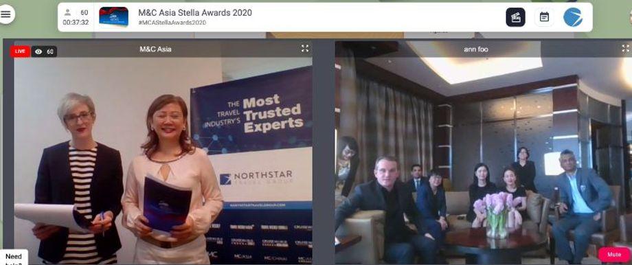 The Grand Hyatt Kuala Lumpur won Best Meetings Hotel in Malaysia