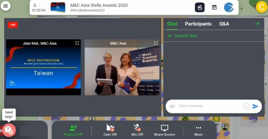 In a sign of the times, this year's Stella Awards ceremony was live streamed across the region via an interactive virtual platform.