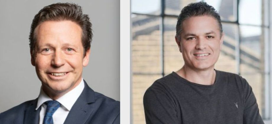 Tourism minister Nigel Huddleston (left) will open the hybrid show, while Ric Salmon CEO of Driift (right) will share his success in producing ticketed online events.