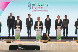 Singapore charts reopening roadmap with global gathering of leaders