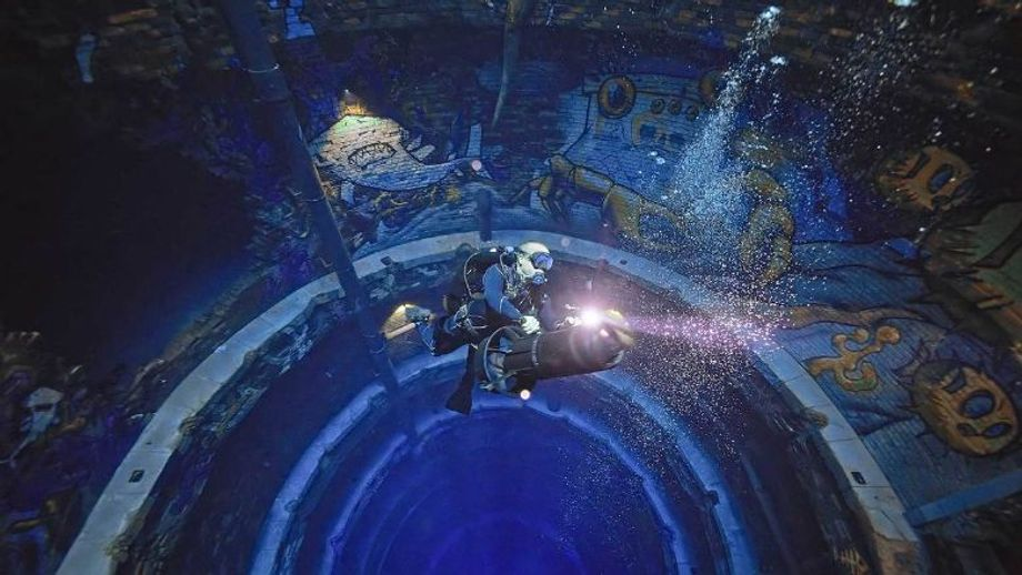 Deep Dive Dubai, the world's deepest dive pool, will open to the public in late July.
