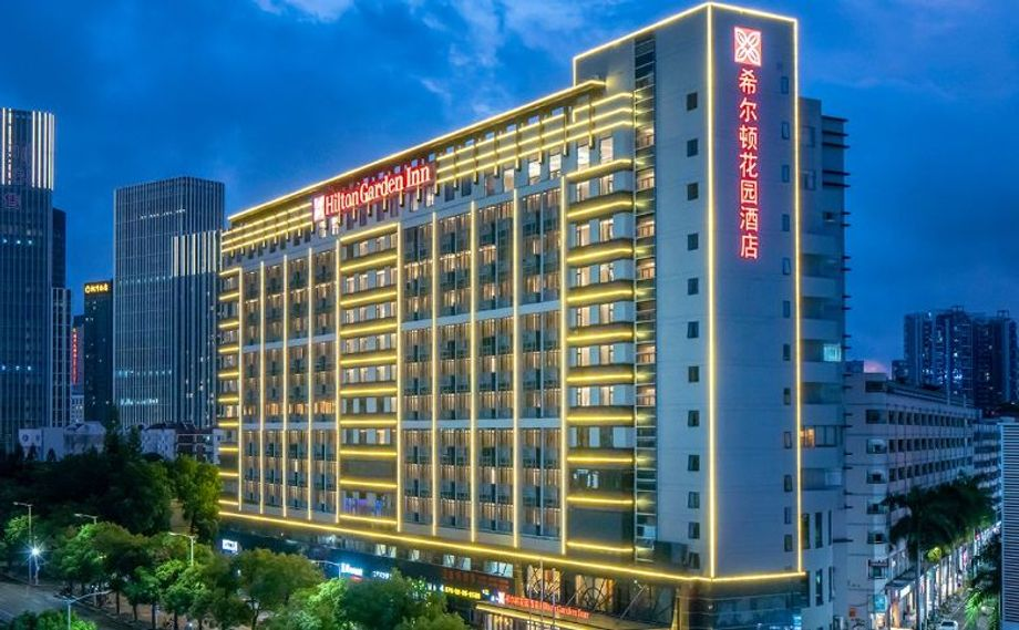 Hilton anticipates a rising demand for hotels in this midscale lodging segment in the long term, with demand coming especially from China's second and third tier cities.