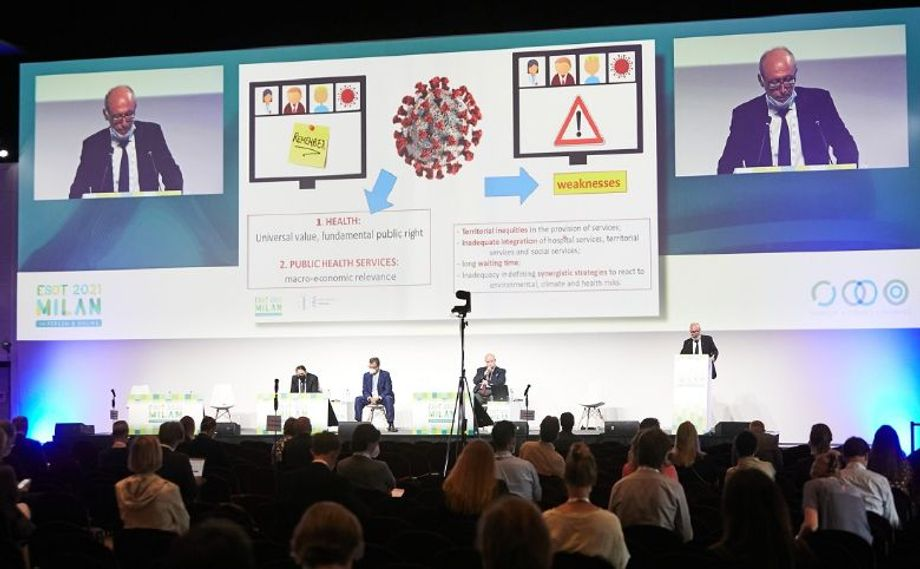 The European ESOT Congress in Milan brought together 1,200 delegates in person and 1,400 delegates online.