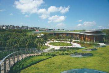 Taipei Expo Dome transforms into city's first big vaccination site