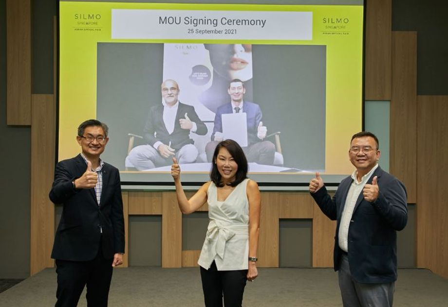 MOU between the Singapore Tourism Board (STB), MP Singapore and SILMO International signed on 25 September.