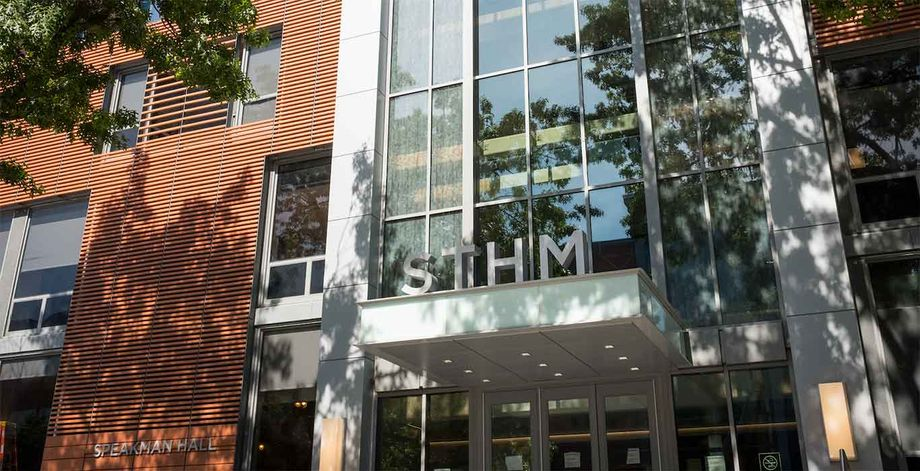 Temple University's Speakman Hall, home of the School of Sport, Tourism and Hospitality Management