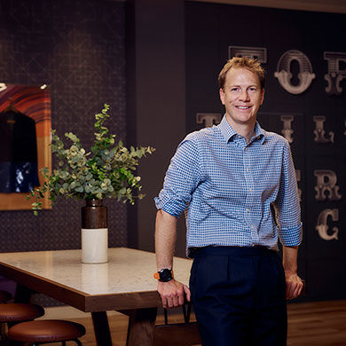 Nick Hoare, COO of etc.venues
