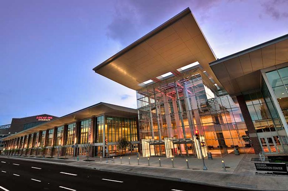 The Indiana Convention Center is currently operating at 25 percent capacity.