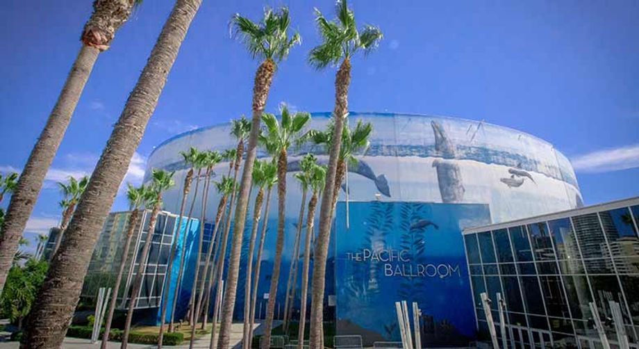 Events can be broadcast from anywhere at the Long Beach Convention Center.